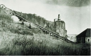 Split Rock Lighthouse tram image